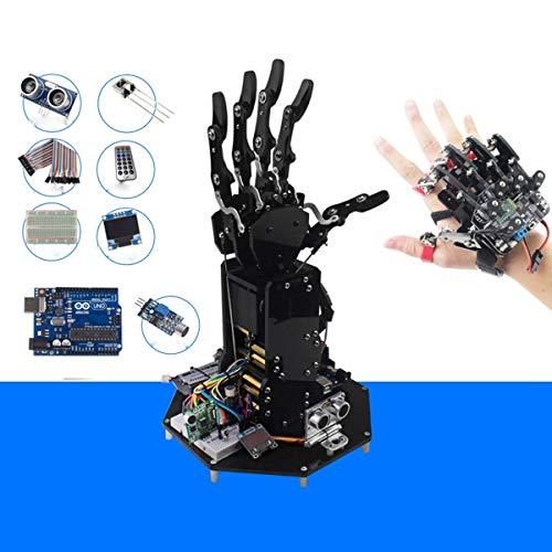 HARLT Bionic Mecánica Desarrollo De Programación del Robot Exoesqueleto De Palm Secundaria Kit/Uhand UNO Compatible Brazo Robótico De Alta Tecnología Juguetes,Sensor