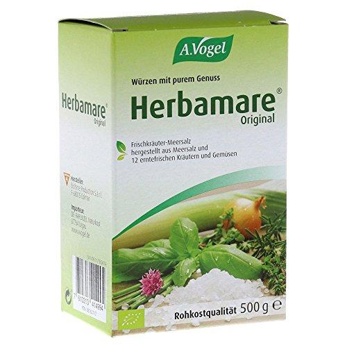 A. Vogel Herbamare Frischkräuter-Meersalz Nachfüllpackung, 500 g