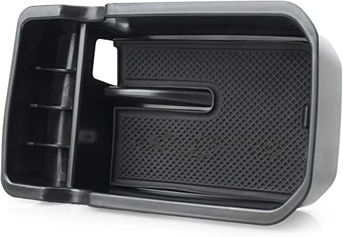 lowest Mallofusa Compatible for high quality Jeep Compass 2017 Interior Car Center Console popular Armrest Storage Organizer Holder Tray Box Bin online sale