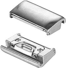hengkang Compatible Garmin Fenix 5X Watch Lugs/Connectors/Clasps, 2pcs 26mm Stainless Steel Replaceable Connection Adapter Connect for Garmin Fenix 5X/5X Plus/Fenix 3 HR