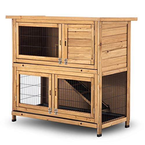 Rabbit Hutch for 4 Rabbits