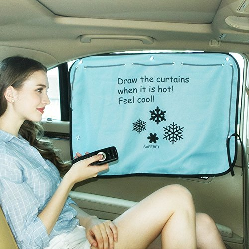GS 170* 50cm Auto Fenster Vorhang Folie Sun UV-Schutz verstellbar Auto Seite Fenster Sonnenschutz Vorhang