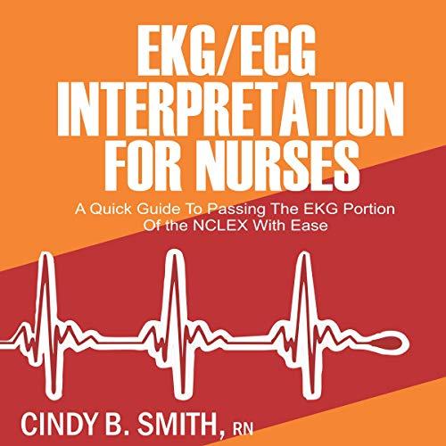 EKG/ECG Interpretation for Nurses audiobook cover art