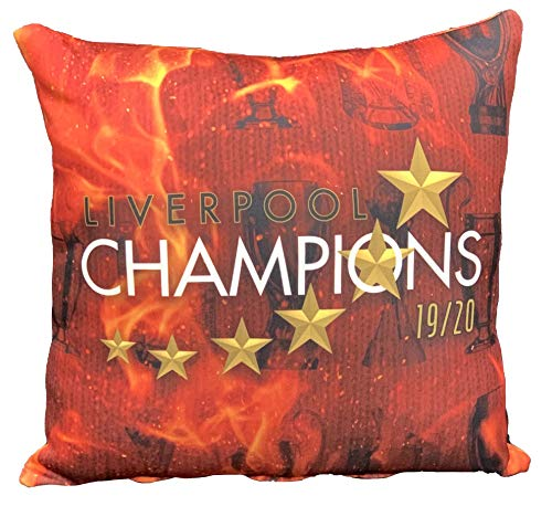Liverpool 2020 Champion Cushion Scatter Cushion Kneeler Headrest Throw Pillow