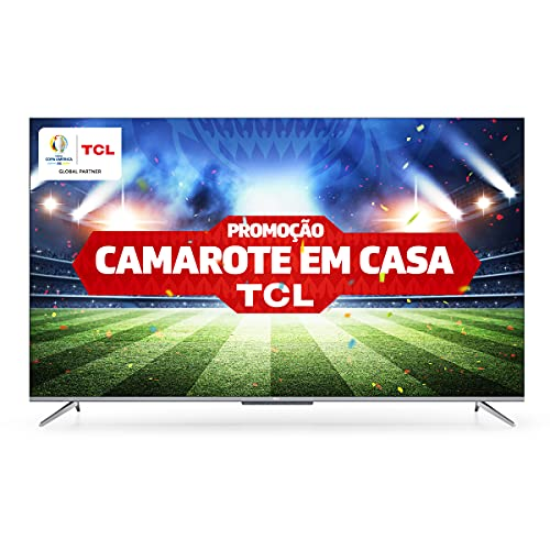 """Android TV LED 65"""" TCL P715 4K UHD HDR"""