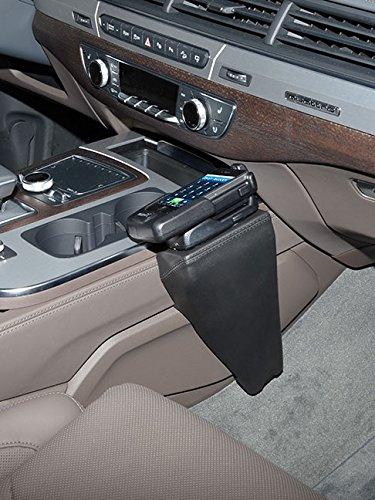 KUDA 2065 Halterung Kunstleder schwarz für Audi Q7 (4M) ab 03/2015