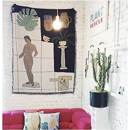 Sofá Geométrico Minimalista Moderno Europeo Toalla Antideslizante Alfombra A Prueba De Polvo Mesa De Café Decoración De Escritorio Tela Sala De Estar Dormitorio Casa De Familia Sofá Manta