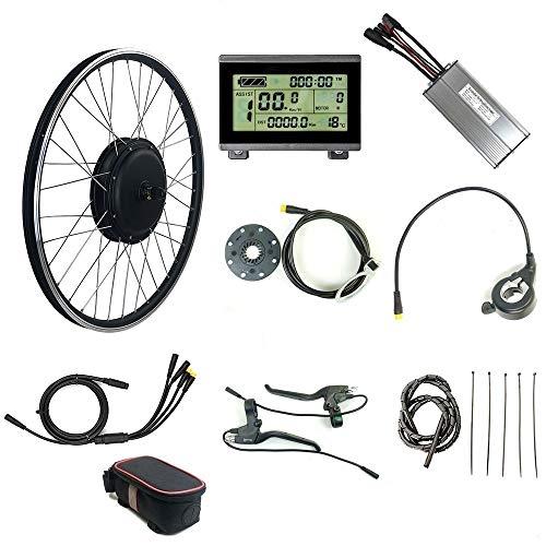 """Tbrand RICETOO 48V 1000W WP Plug Kit de conversión de Bicicleta eléctrica de rotación Trasera 20""""24"""" 26""""27.5"""" 28""""29"""