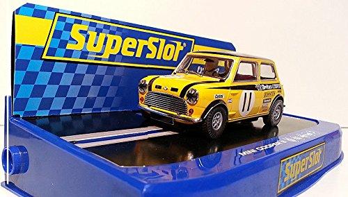 Scalextric SuperSlot - Mini Cooper S, Coche Slot (Hornby S3640)