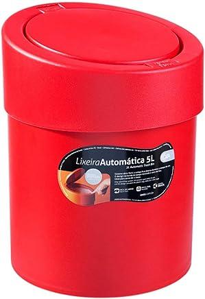 Lixeira Automática Coza Pimenta Polipropileno