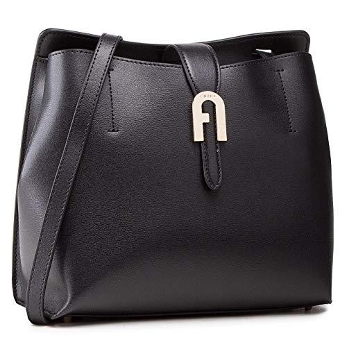 FURLA Bolsa de hombro Sofia Negra S (WB00138-MSD000-O6000-1-007)