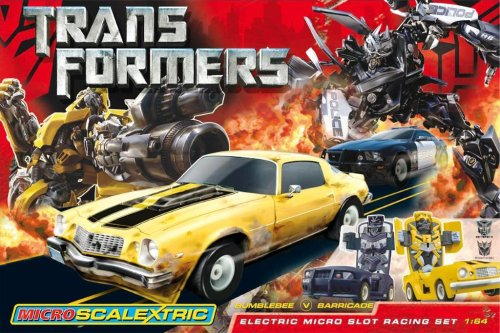 Hornby France - Scalextric - Transformers - Circuit de Voitures
