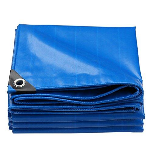 ZYLE Toldos Lona de Doble Cara Impermeable, Resistente al Desgaste, protección Solar, Tela a Prueba de Polvo, Espesor 0,45 mm, 550 G/M², Azul (Size : 2x1.5m)