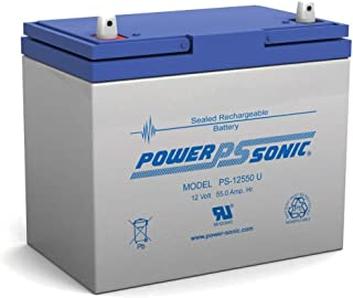 Power Sonic 12V 55Ah Battery for Jazzy 1101 1105 1120 1121 HD 1122 1133