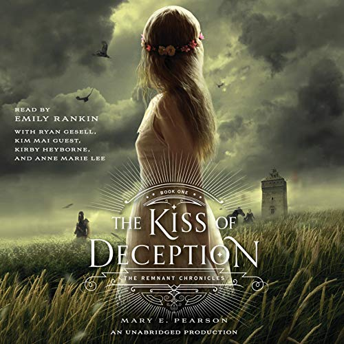 The Kiss of Deception audiobook cover art