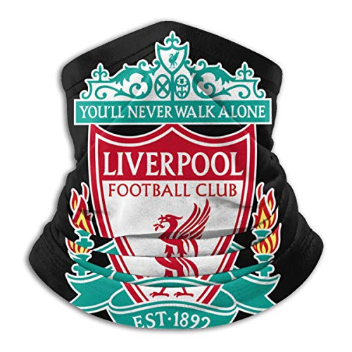 Liverpool FC Logo Europ Champion Blanket Digital Printed Face Scarf Cover Mask - Sun Dust Bandanas For Fishing Motorcycling Running