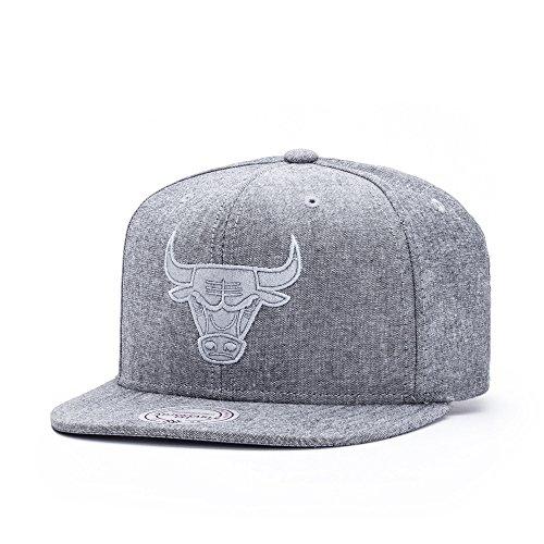 Mitchell & Ness Herren Caps / Snapback Cap NBA Italian Washed Chicago Bulls grau Verstellbar