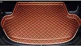 BEAGHTY Tapis de Protection de Coffre de Voiture pour Peugeot 308 2014 2015, Coussin de Rangement en Cuir sur Mesure