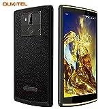 [Super Batterie 10000mAh] OUKITEL K7 Power Pro Dual 4G LTE Smartphone Portable Débloqué,6.0' 18:9 Ecran,Android 9.0 Octa Core Telephone,4Go RAM + 64Go ROM,Sony 13MP+2MP+5MP Caméra,Charge Rapide 9V/2A
