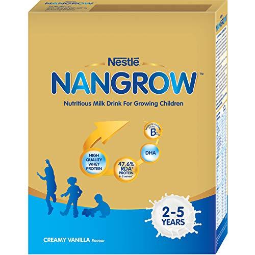 Nestle NANGROW Nutritious Milk Drink for Growing Children (2-5 years), Creamy Vanilla, 400g