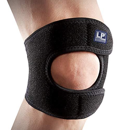 LP Support 790-KM atmungsaktive Neopren Kniebandage, Größe:L/XL, Farbe:1 x schwarz