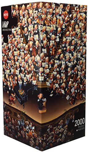 Heye - 8660 - Puzzle - Orchestra - Loup - 2000 pièces by Heye