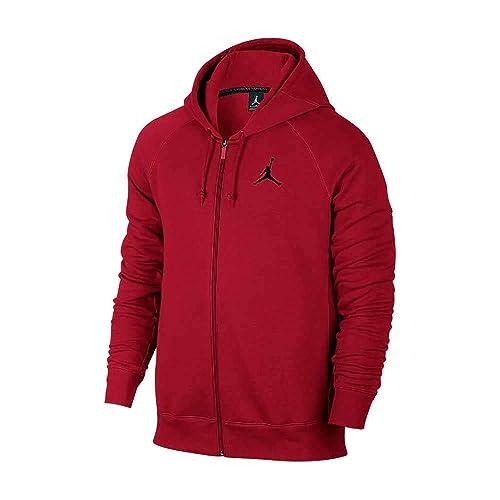 8a3afc9ff7712a Nike Men s Air Jordan Jumpman Full-Zip Fleece Basketball Hoodie