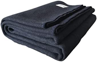 Throw 100/% Wool Bed Throw Sofa Pad Cover 155//200 cm Merino Wool Picnic Blanket