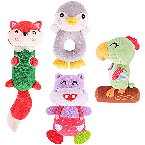 TUMAMA Soft Rattle Baby Toys...