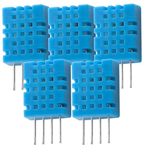 AZDelivery 5 x DHT11 Temperatursensor und Luftfeuchtigkeitssensor für Arduino