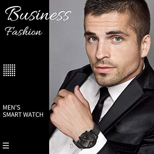 Blood Pressure Watch, Waterproof GPS Running Smart Watch for Men Women, Heart Rate Fitness Activity Tracker with Sleep Tracking Monitor Calories Pedometer Wrist Watch