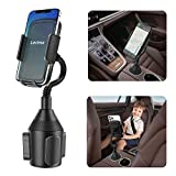 Lorima Car Cup Holder Phone Mount with A Long Flexible Neck for Cell Phones...