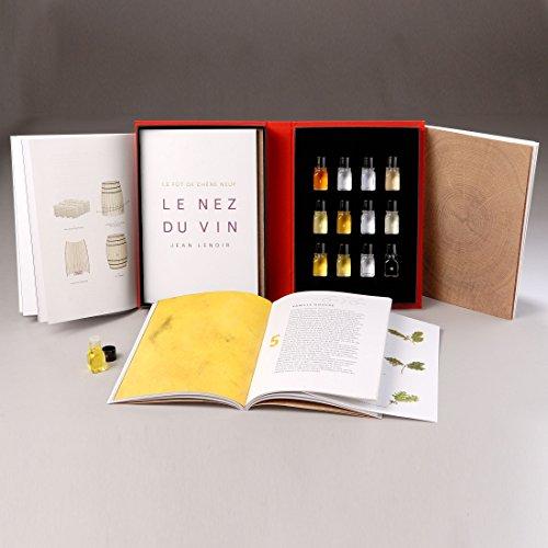 'Le Nez Du Vin 'barrica, con 12aromas, Edition en inglés–Jean Lenoir.