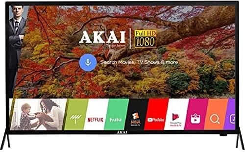AKAI 98 cm (40 inches) Full HD Smart LED TV AKLT40S-D409W (Black) (2021 Model)
