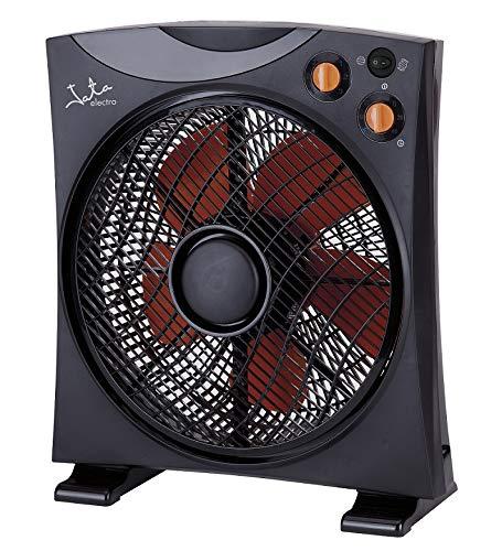 Jata VS3012 Ventilador de suelo, 45 W, 200 Decibelios, Plástico, Negro