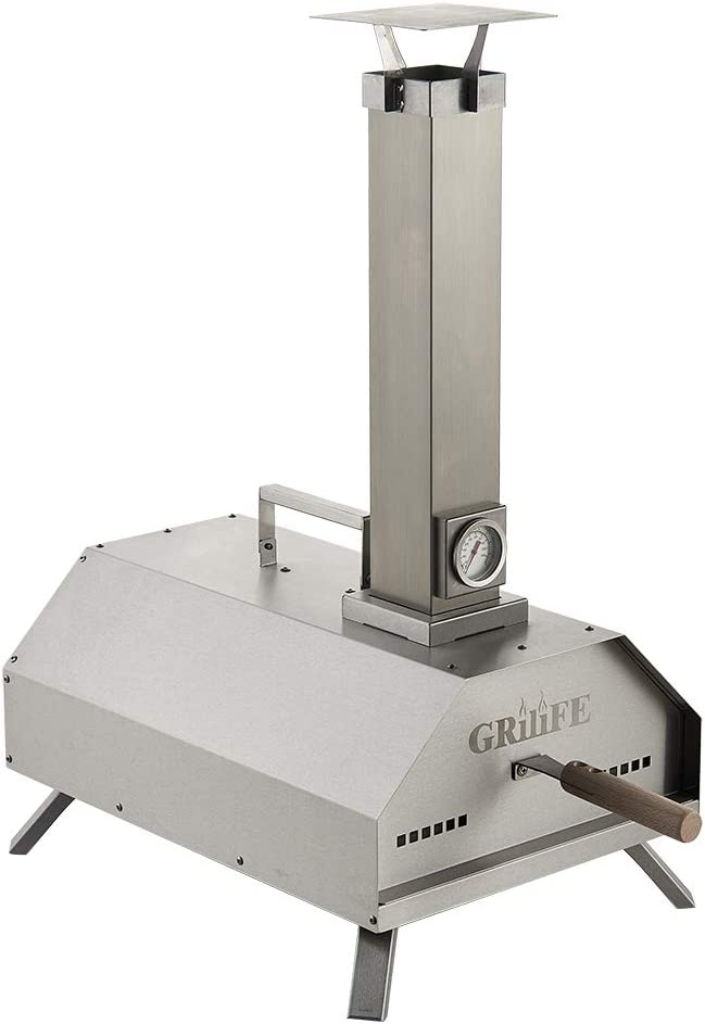 GRILIFE Pizza Oven Outdoor and Heavy Wood Duty F Steel Stainless Charlotte Mall Many popular brands