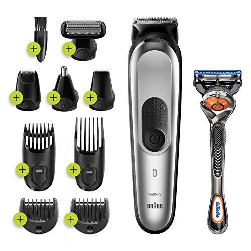 Braun MGK7220 10-en-1 - Tondeuse à Cheveux et Barbe,...