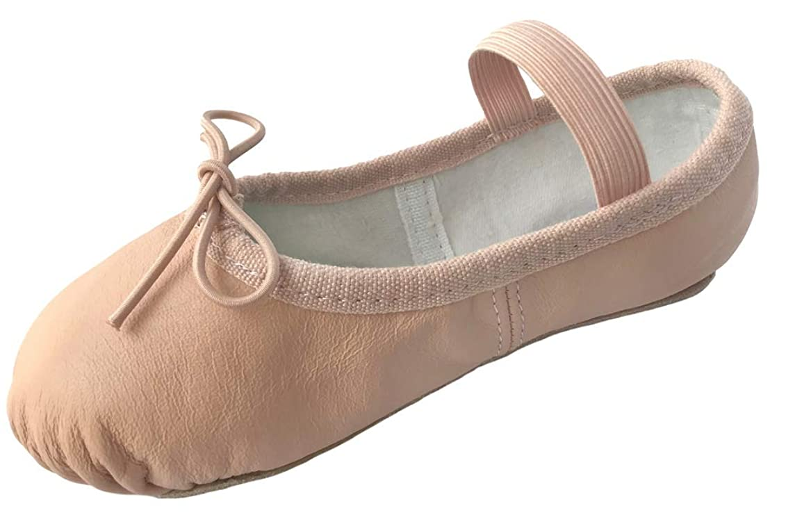 Dancina Leather Ballet Shoes for Toddler and Little Kids