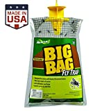 5. RESCUE! Big Bag Fly Trap – Large Capacity Disposable Outdoor Hanging Fly Trap