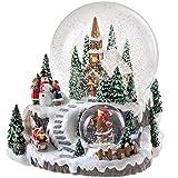 WeRChristmas - Bola de Nieve Decorativa (15 cm), diseño de Pueblo Musical