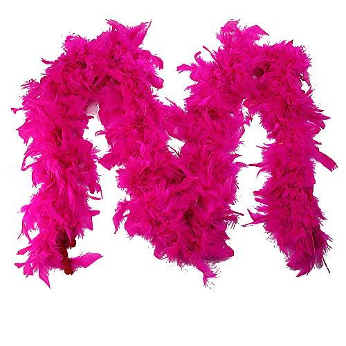 Plumes de Boa Boa Carnaval Plume-écharpe Costume Farbenwahl Écharpe Fête 180 cm Fête
