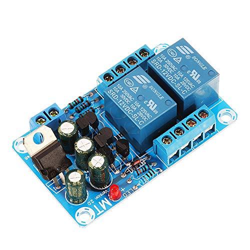 Módulo de relevo Protección Junta de altavoz del amplificador de energía del circuito de relé doble protector de apoyar el retraso de inicio y detección de corriente continua 10pcs Kit de componentes