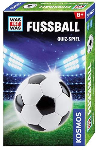 Kosmos 699734 - WAS IST WAS - Fussball, spannendes Quiz-Spiel für Kinder ab 8 Jahre, über Bundesliga, Mannschaften, Meisterschaften und Techniken, Mitbringspiel