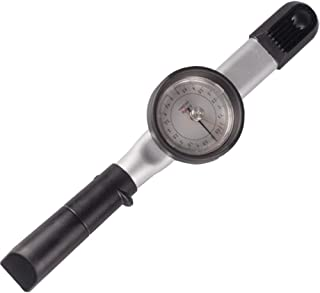 NEWTRY 1/4'' Inch Drive Dial Torque Wrench Dual Scale Wrench High Precision Adjustable Torch Force Tester (1-5N.m)