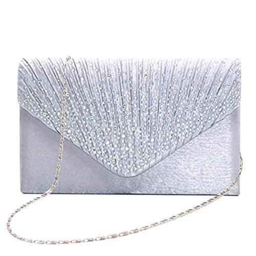 Bolso de mano bolso bolso Clutch Mujer Bag bolso bolsillos pequeño bolso...