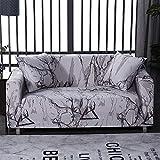 WXQY Funda de sofá elástica para Sala de Estar Funda elástica Antideslizante Funda de sofá seccional Funda de sillón de Esquina en Forma de L A31 3 plazas