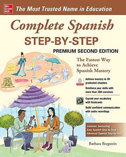 Compare Textbook Prices for Complete Spanish Step-by-Step, Premium Second Edition 2 Edition ISBN 9781260463132 by Bregstein, Barbara