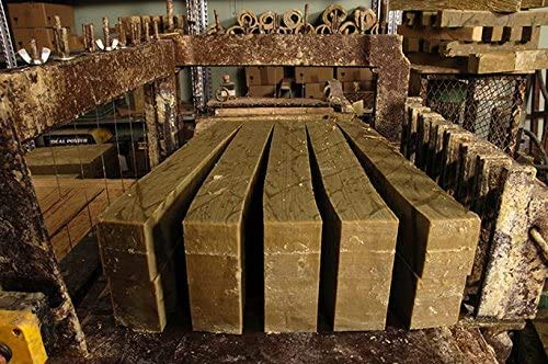 Le Serail Savonnerie Marseillaise depuis 1949 - Barre de véritable savon de Marseille 1,4 Kg. Savon brut EXTRA PUR d'huile d'OLIVE - Garantie sans huile de palme