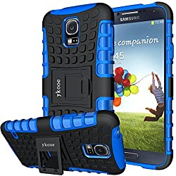 professional Ykooe cover for Samsung Galaxy S5 (Armor series) Two layers of new impact resistant silicone cover for Galaxy S5 …