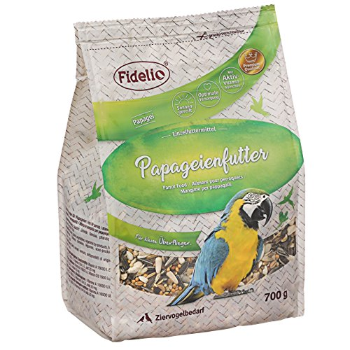 Fidelio Papageienfutter, 5er Pack (5 x 750 g)